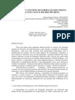 Formação Discursiva em Foucault e Pêcheux - Cláudia Rejanne Pinheiro