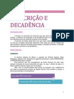 07. DOS FATOS JURÍDICOS - Da prescrição e da decadência