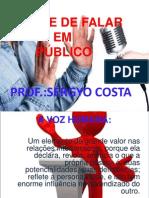 A ARTE DE FALAR EM PÚBLICO.ppt