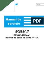 Manual de Servicio Vrv II (Daikin)