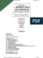 Casset Rebeliao Das Massas