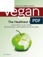 Vegan. the Healthiest Diet. Henrich, Ernst Walter