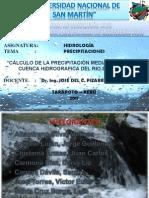 Calculo de La Precipitacion Media de La Cuenca Hidrografica Del Rio Saposoa