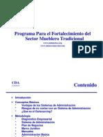 Programa Para El Fortalecimiento Del Sector Mueblero Tradicional SMT 2007_01