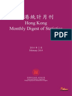 Hong Kong Monthly Digest of Statistics (February 2014)