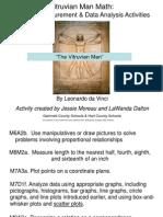 vitruvian man  algebra measurement  data analysis jm 9-16-11