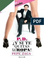 P.D. Y Si Te Quitas La Ropa_ - Pepe Zaga