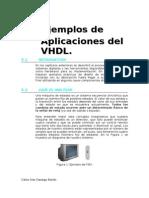 Ejemplos de aplicación en VHDL
