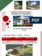 Centro Recreacional y Vivienda Del Ingeniero