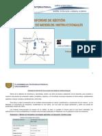 Informe de gestión evaluación de modelos instruccionales