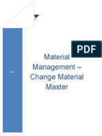 Change Material Master - MM02