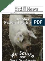 Pork Edition October 8, 2009
