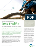 Less Traffic Briefing Paper