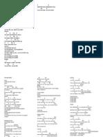 Line Up Print