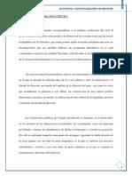 TRABAJO DE INVESTIGACIÓN PERIODO 2 CONSTITUCIONES DEL EL SALVADOR