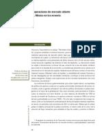 Noemi Levy Orlik - La efectividad de las operaciones de mercado abierto en países emergentes