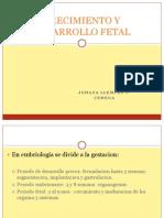 Cred y Desarr Fetal