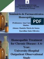 Seminário de Farmacotécnica Homeopática