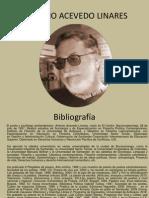 Antonio Acevedo Linares Bibliografía