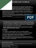 PUNTO DE ACCESO INALÁMBRICO (WAP O AP