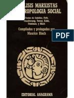 Bloch, Maurice, Análisis marxista y antropología social. La propiedad y el final de la alianza..pdf
