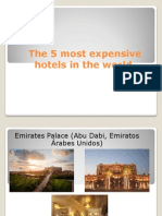 The 5 Most Expensive Hotels in the World