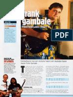 Frank Gambale Masterclass