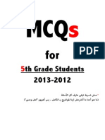 MCQs+for+5th+Grade+Students+Mehysen2