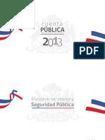 Cuenta Publica Ministerio Del Interior 2013