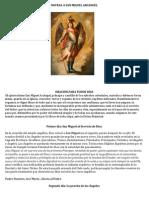 Novena a San Miguel Arcangel