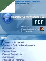 EPE-Fundamentos de Programacion - Unidad 01-Elementos Bsicos