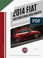 Fiat 500 and 500 Abarth 2014 Accessories Catalog - Fiat500USA.com