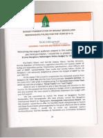 BBMP Budget 2014-15