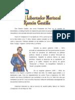 31 DE AGOSTO - Día del libertador Mariscal Ramón Castilla.