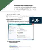 Cómo darle mantenimiento de Software a una PC