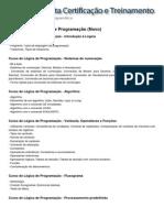 Conteúdo Programático - Introdução à Lógica de Programação (Novo)