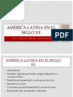 América Latina en el siglo XX
