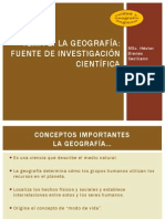 Geografía Regional TEMA 1