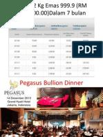 Pegasus  2014 Millionaire project
