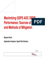 Maximizing GSPS ADC SFDR Performance