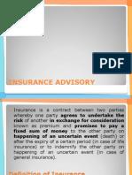Marketing Finance Insurance Advisory
