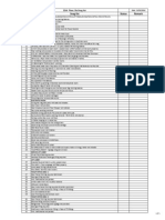 21th Floor Snag List