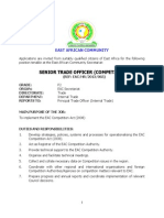 Senior Trade Officer _competition