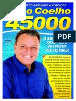 Informativo do Candidato à Vereador Alino Coelho - Edição 01