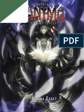 Anima beyond fantasy Arcana Exxet | Magic (Paranormal) | Magician