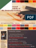 deniescha graham-electronic portfolio 2013-2014 al rehab