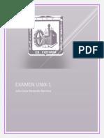 EXAMEN 1 UNIX
