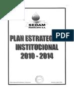 Plan Estratégico Institucional 2010 - 2014-1