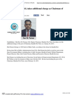 Ravi M. Parmar, IAS, Takes Additional Charge as Chairman of Kandla Port Trust-Daily Shipping Times