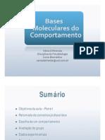 Psicobio2a - Bases Moleculares Do Comportamento